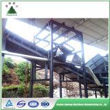 Planta de la pirolisis del equipo de la basura sólida en basura sólida municipal
