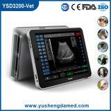 Ysd3200-Vet Ce Approuvé iPad Touch-Screen Veterinary Ultrasound Scanner