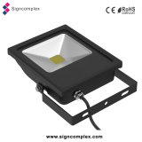 China sin parpadeo COB conductor exterior IP65 50W proyector LED