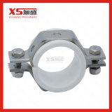 Support de pipe d'acier inoxydable d'hygiène avec des viroles