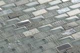 最新の新しく装飾的な壁のガラスタイルの水晶および石のモザイク