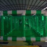 緑の膨脹可能な党テント
