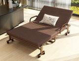 Кровать съемной складчатости мебели кровати экстренная с Washable крышкой тюфяка