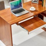 Mesa de madeira do computador da cor 2018 com gabinete do livro