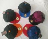 Chapéus lisos de Bill Hip Hop com logotipo feito sob encomenda