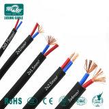 1 Core 2 Core de 3 núcleos de cobre del cable de alimentación eléctrica