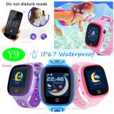 GPS van Jonge geitjes de Slimme Telefoon van uitstekende kwaliteit van het Horloge met het Elektronische Schermen Y9