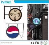 Afficheur LED rond de signe de la publicité extérieure de Nse