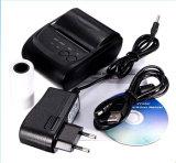 De draagbare MiniPrinter van het Ontvangstbewijs Bluetooth van 58mm V4.0 Thermische