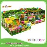 Горячая продажа Comfrotable детская игровая площадка оборудование для установки внутри помещений