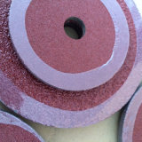 Oxyde d'aluminium 0,8 mm disques fibre optique pour le polissage du métal