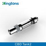 Tank 2 van de Controle van de Luchtstroom van de Patroon van Kingtons Nieuwste de Verstuiver van de Olie Cbd