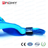 Bedruckbarer RFID gesponnener Wristband mit kodierung