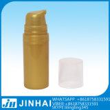 円形PPのプラスチック空気のないびん50mlのクリーム色のびん