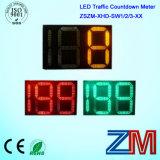 En12368 승인되는 LED 소통량 카운트다운 미터