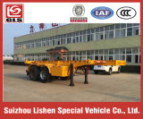 Въедливое Liquid Tanker Transportation 15-20cbm Chemical Liquid Transport Container Semi Trailer