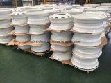 Белый Америки ступицы колеса погрузчика 24.5x8.25 стальной колесный диск