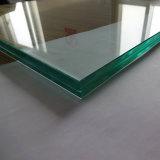 최고 Clear 12mm UV Protection Tempered 낮은 Iron Laminated Glass