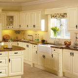 De nieuwste Houten Keukenkast van het Ontwerp
