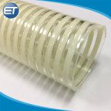 8 pouce renforcé flexible d'aspiration en PVC souple avec OEM ODM