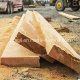 水平バンドを処理する自動木は木ログの製材所を見た