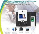 Prise en charge biométrique des appareils de contrôle d'accès aux empreintes digitales Lecteur de carte MIFARE (TFT800 / MF)