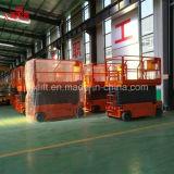 300kg 6-14m中国のベストセラー油圧電気はセリウムISOの証明の上昇の梯子を切る