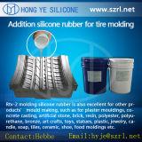 Platina de borracha de silicone de cura para o molde do Pneu