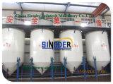 1t El equipo de la refinería de petróleo crudo, los pequeños la refinación de petróleo la máquina para establecer pequeños de la fábrica de aceite,