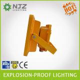 20-150W ATEX e IECEx norma CE LVD, EMC, RoHS, IK08 explosión de iluminación LED a prueba de luz de la llama Prueba, prueba Ex LED