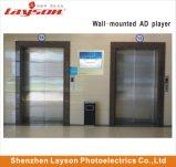 Écran TFT 19 pouces ascenseur pleine couleur LCD numérique à LED de signalisation de la publicité Media Player Lecteur vidéo