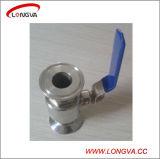 Valvola a sfera premuta sanitaria dell'acciaio inossidabile 316 di Wenzhou