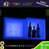 Bouchon de glace en plastique à essence en plastique LED pour Bar Night Club