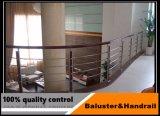 Zuverlässiger Lieferant Innen-/AußenEdelstahlbaluster-/glas, das für Balkon ficht