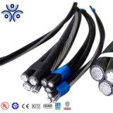 Les frais généraux 0.6/1kv de ligne de câble Câble isolé PVC/PE