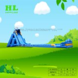 青いモンスターの牙長い水膨脹可能なスライド