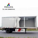 Rimorchio laterale di carico della tela incatramata del PVC di trasporto del camion della tenda inclusa semi