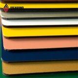 Ideabond 1220*2440mm PVDF Ral Panel de pared de aluminio blanco (RAL-9016)