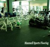 Piso de goma y PVC profesional para el gimnasio ni idea de utilizar con 5mm-50mm