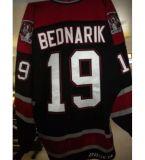 Горячая продажа настроить Whl Red Deer повстанцами 17 Джефф Смит 20 Стюарт Керр 19 Лукас Bednarik Бреннен Рей мужская женщин Хоккей футболках Nikeid Goalit разрез