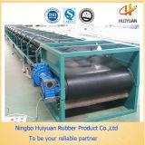 Cinta transportadora / correa de goma exportador en China