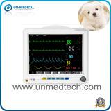 Veterinaire Geduldige Monitor met ECG&NIBP&SpO2&Pr&Temp&Resp