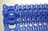 Cinta de giro modular plástica Sideflex de grande passo para transportador espiral