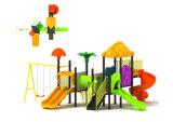 Parque Infantil exterior de plástico para crianças e crianças (JYG-035-1)