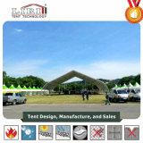 TFS tente de courbe de structure en aluminium pour les sports des hangars