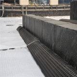 Le PEHD Dimple feuille avec géotextile de drainage pour sous-sol