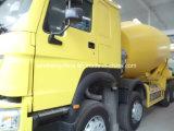 Sinotruk HOWO A7 10cubicはミキサーのトラックをメーターで計る