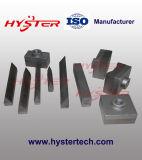 バイメタルのシュレッダーのハンマーはサトウキビ圧搾機のための90X90X45mmをひっくり返す