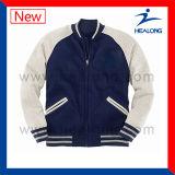 Куртка бейсбола людей логоса вышивки одежды обслуживания ODM Healong для сбывания
