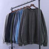 Colada fría hecha punto suéter redondo del tinte de las camisetas del suéter del cuello del Mens